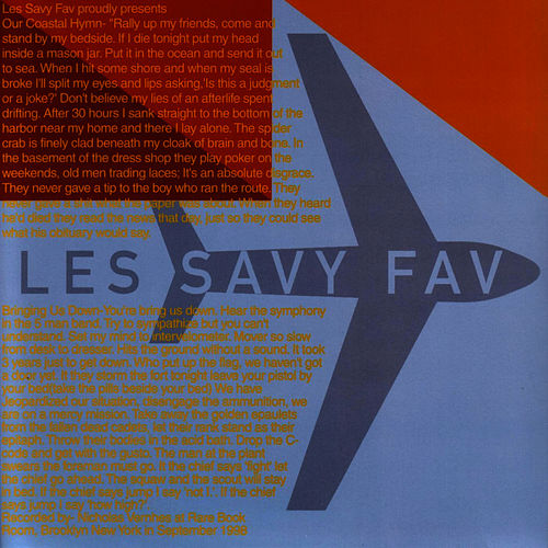 Our Coastal Hymn b/w Bringing Us Down by Les Savy Fav
