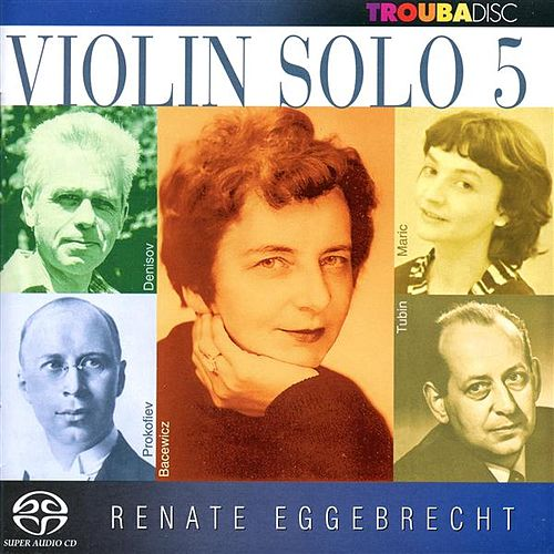 Violin Solo, Vol. 5 by Renate Eggebrecht