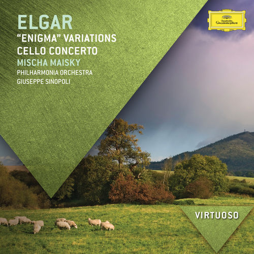 Elgar:'Enigma' Variations; Cello Concerto by Mischa Maisky