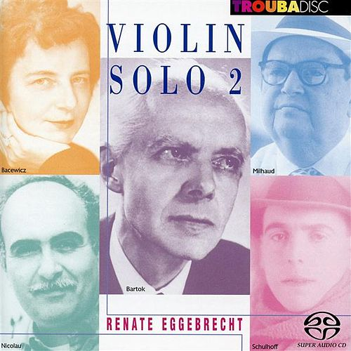 Violin Solo, Vol. 2 by Renate Eggebrecht