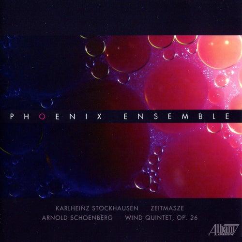 Stockhausen/Schoenberg de The Phoenix Ensemble