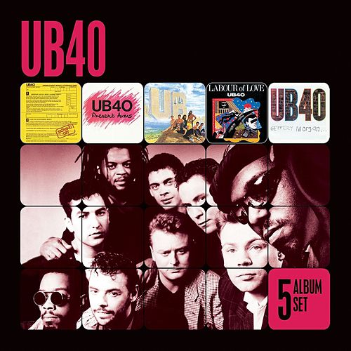 5 Album Set (Signing Off/Present Arms/UB44/Labour of Love/Geffery Morgan) by UB40