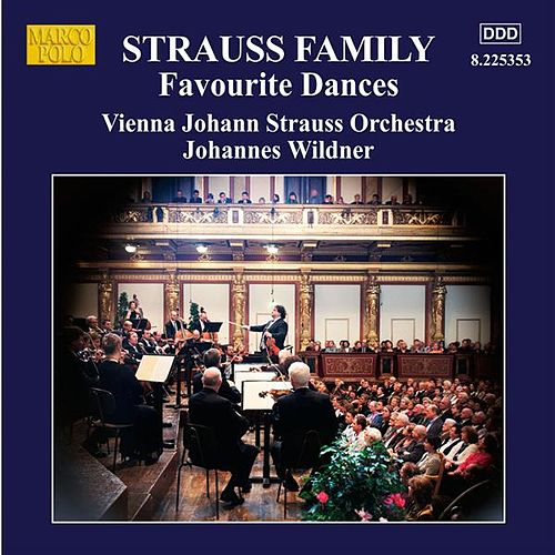 Strauss Family: Favourite Dances de Johann Strauss Orchestra