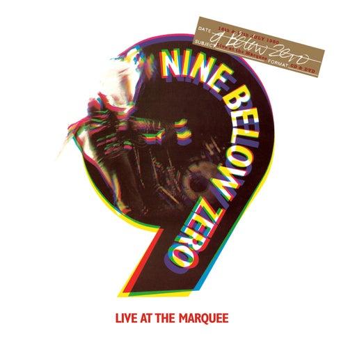 Live At The Marquee (Special Edition) de Nine Below Zero
