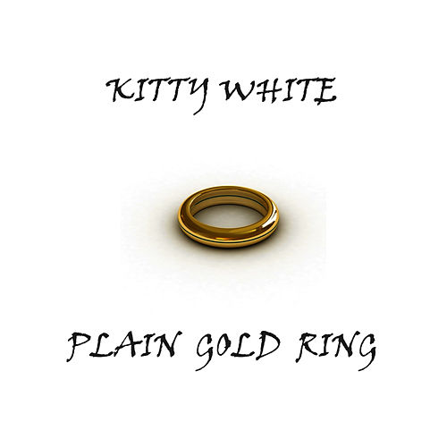 Plain Gold Ring by Kitty White