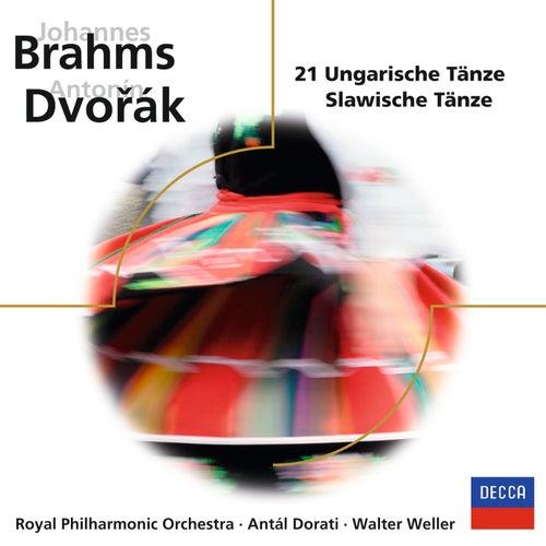 Brahms, Dvořák: 21 Ungarische Tänze / Slawische Tänze by Royal Philharmonic Orchestra