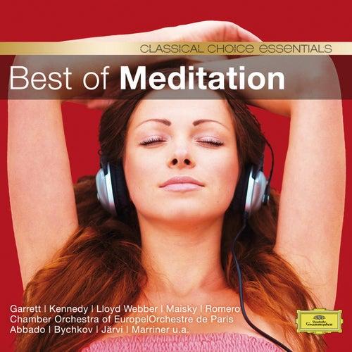 Best Of Meditation (CC) von Various Artists