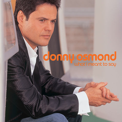 What I Meant To Say de Donny Osmond