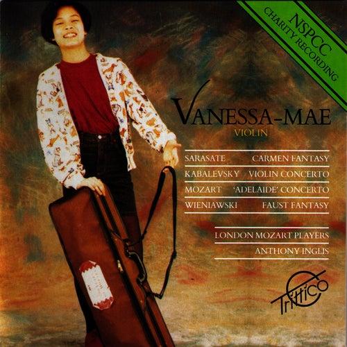 Mozart-Sarasate-Kabalevsky-Wieniawski: Selected Works for Violin de Vanessa Mae