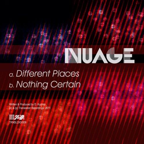 Different Places / Nothing Certain - Single de Nuage