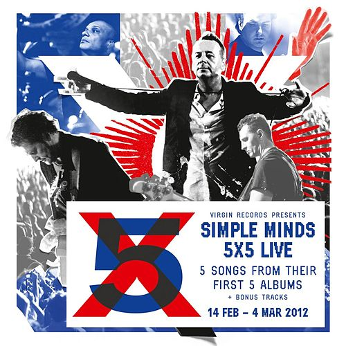 5x5 Live de Simple Minds
