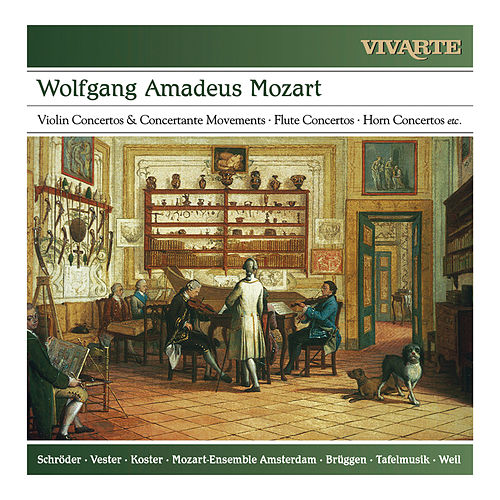 Mozart: Violin Concertos & Concertante Movements; Flute Concertos; Horn Concertos etc. by Various Artists