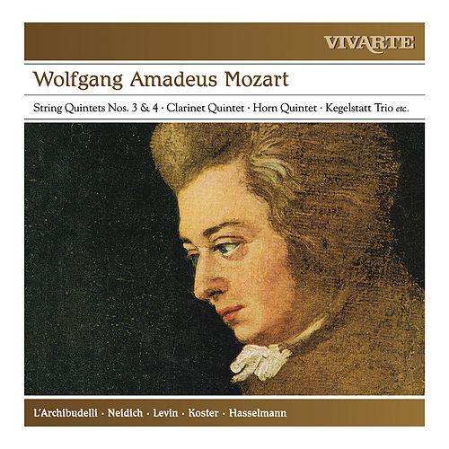 Mozart: A Musical Joke; Clarinet Quintet; Horn Quintet; Kegelstatt Trio; String Quintets Nos. 3 & 4 etc. by Various Artists