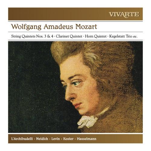 Mozart: A Musical Joke; Clarinet Quintet; Horn Quintet; Kegelstatt Trio; String Quintets Nos. 3 & 4 etc. by Various Artists