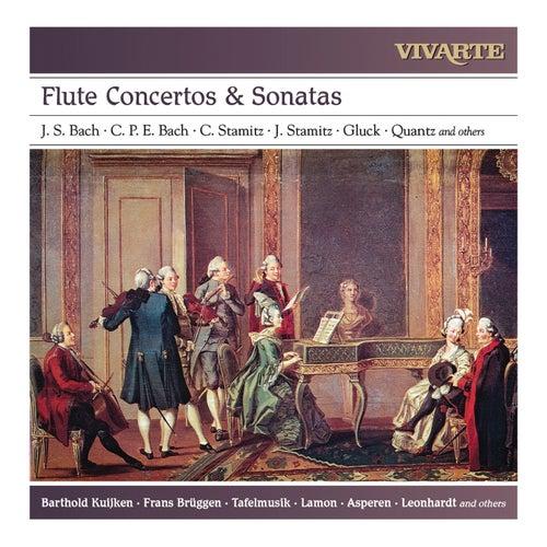Flute Concertos & Sonatas: J. S. Bach, C. P. E. Bach, C. Stamitz, J. Stamitz, Gluck, Quantz and others by Various Artists