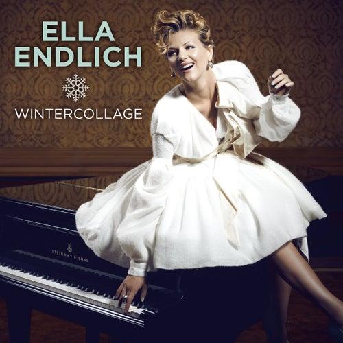Wintercollage von Ella Endlich