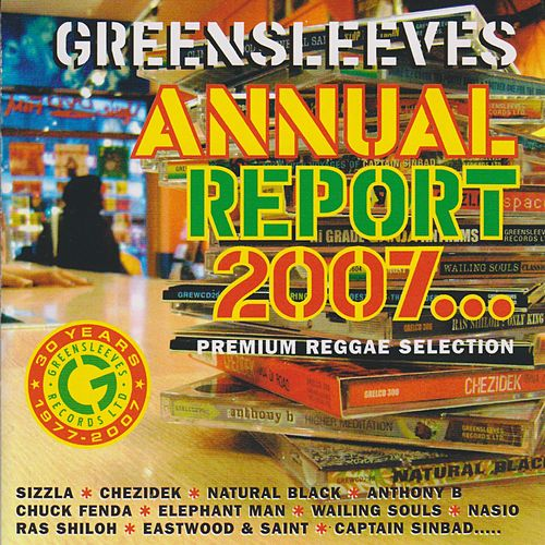 Greensleeves Annual Report 2007 by Various Artists