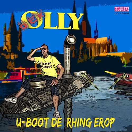 U-Boot de Rhing erop di Der Olly