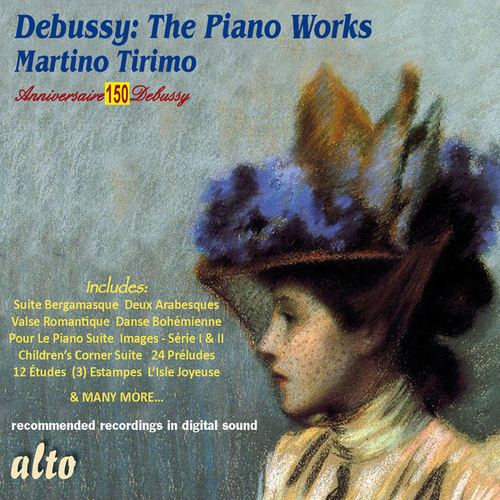 Debussy: The Piano Works von Martino Tirimo