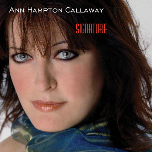 Signature by Ann Hampton Callaway