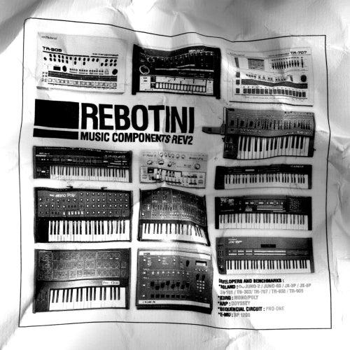 Music Components Rev 2 (Bonus Track Version) by Arnaud Rebotini