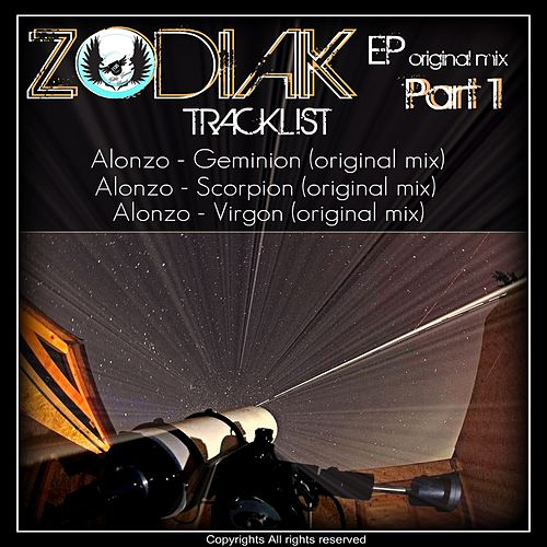 Zodiak Part 1 - Single de Alonzo