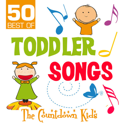 50 Best of Toddler Songs de The Countdown Kids