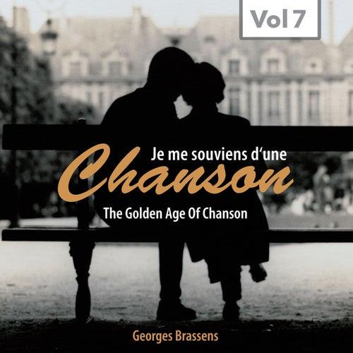 Chanson (The Golden Age of Chanson, Vol. 7) de Georges Brassens