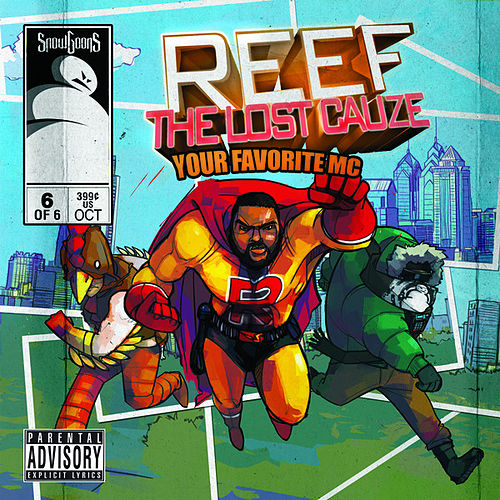 Reef The Lost Cauze: Your Favorite MC de Snowgoons