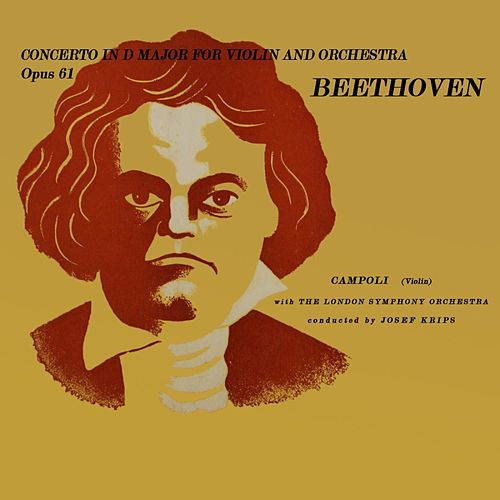 Beethoven: Concerto in D Major by Josef Krips