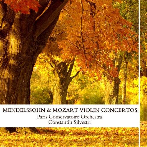 Mendelssohn & Mozart: Violin Concertos de Paris Conservatoire Orchestra