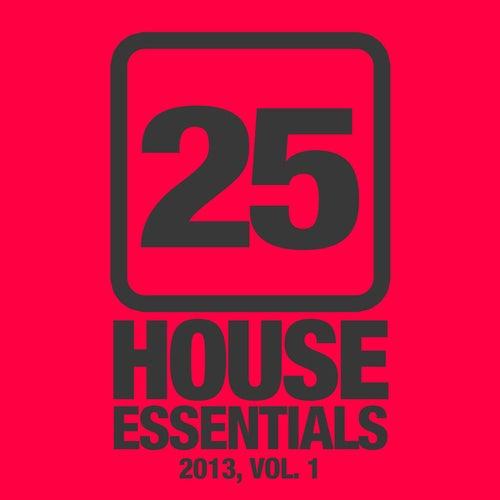 25 House Essentials 2013, Vol. 1 von Various Artists