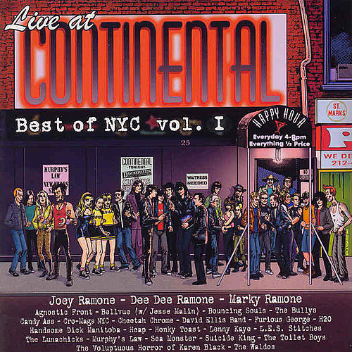 Live At Continental Best Of Nyc Vol. I by Various Artists