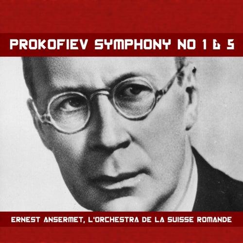 Prokofiev: Symphony Nos. 1 & 5 de L'Orchestra de la Suisse Romande