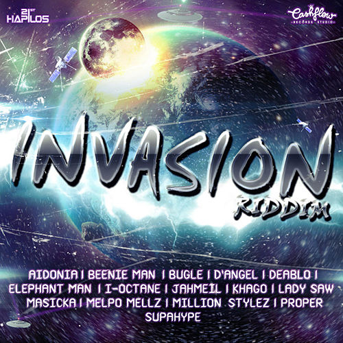 Invasion Riddim by Various Artists