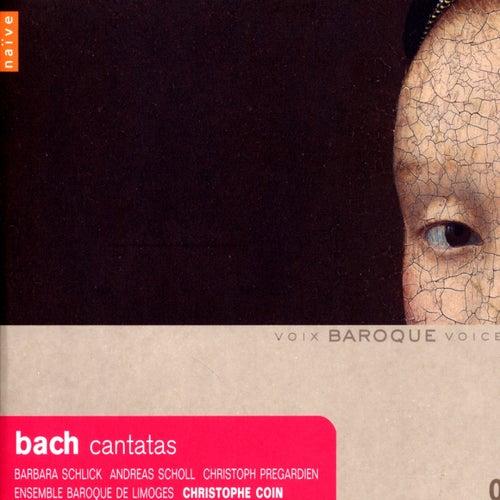 Bach: Cantatas with violoncello piccolo, BWV 85, 175, 183, 199 de Christophe Coin