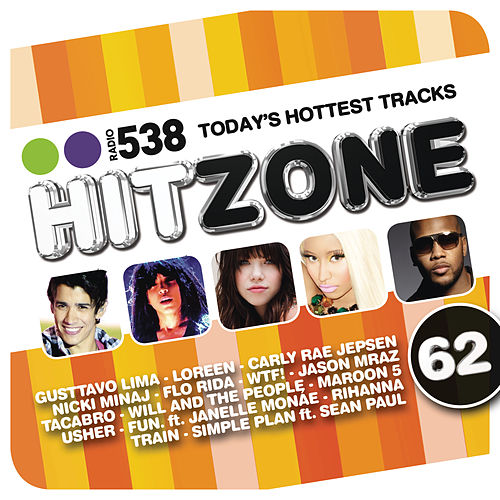 538 Hitzone 62 van Various Artists