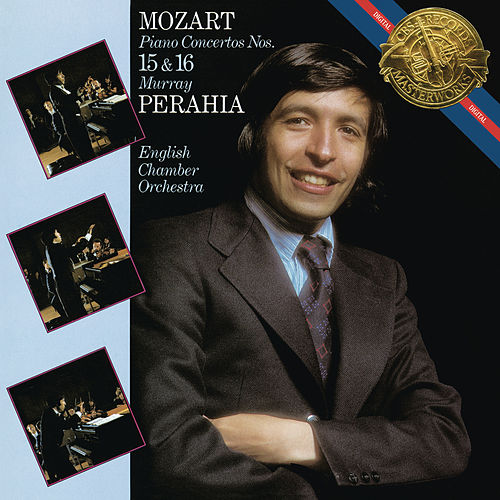 Mozart: Piano Concertos Nos. 15 & 16 von Murray Perahia