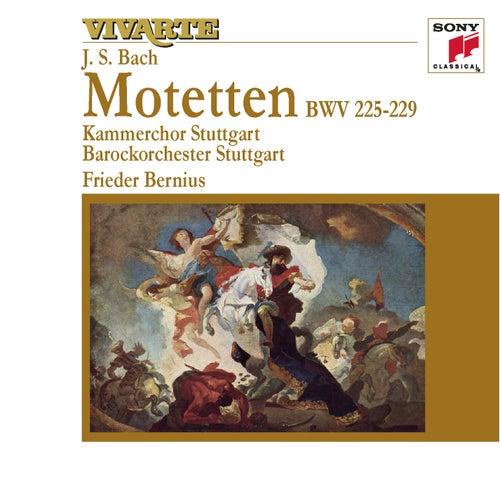 Bach: Motets BWV 225-229 von Barockorchester Stuttgart