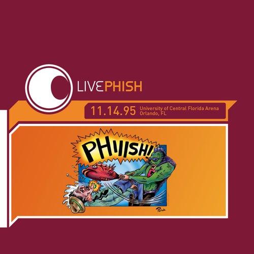 LivePhish 11/14/95 von Phish