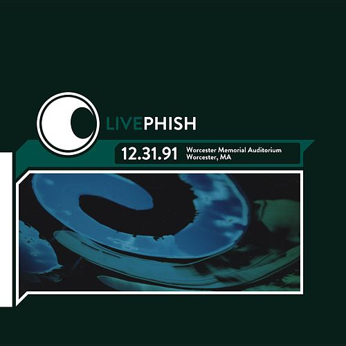 LivePhish 12/31/91 Worcester Memorial Auditorium, Worcester MA de Phish