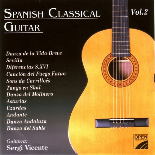 Spanish Classical Guitar (Vol. II) de Sergi Vicente