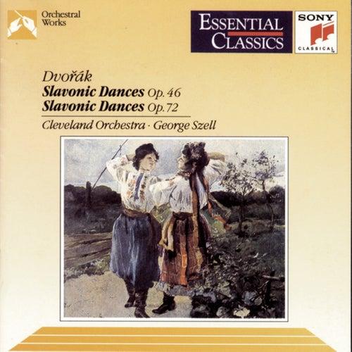 Dvorák:  Slavonic Dances, Op. 46 & 72 by George Szell