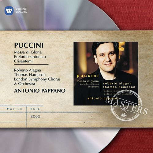 Puccini: Messa di Gloria by Antonio Pappano