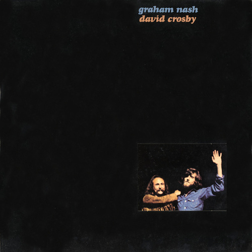 Graham Nash and David Crosby de Crosby & Nash