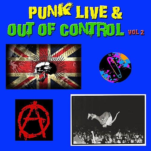 Punk Live & Out of Control, Vol 2 de Various Artists