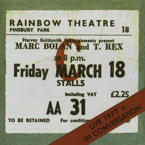 Live 1977 + In Conversation by T. Rex
