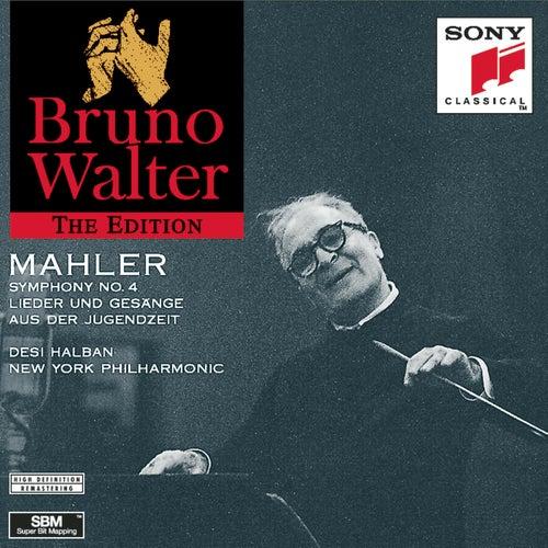 Mahler: Symphony No.4; Lieder und Gesänge aus der Jungendzeit by Bruno Walter