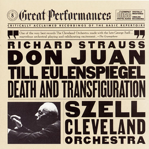 Strauss: Til Eulenspiegel's Merry Pranks, Op. 28, Don Juan, Op. 20, And Death And Transfiguration, Op. 24 de Cleveland Orchestra