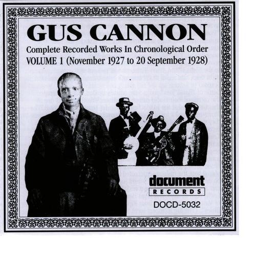 Gus Cannon Vol. 1 (1927 - 1928) de Gus Cannon